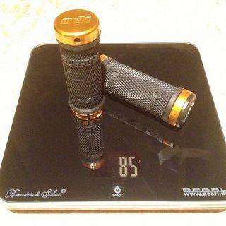 Gewicht ODI Griffe Ruffian Lock-On 90mm