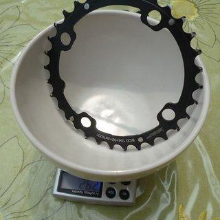 Gewicht BOR Kettenblatt 2x10XX MTB 104mm, 32Z