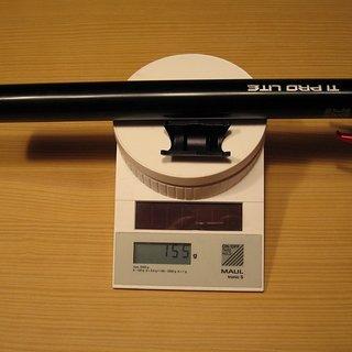 Gewicht KCNC Sattelstütze Ti Pro Lite Scandium 31.6 x 350mm