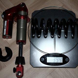 Gewicht BOS Feder Stahlfeder 140-36-300