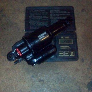 Gewicht DT Swiss Dämpfer Nude TC 165 x 37,5mm