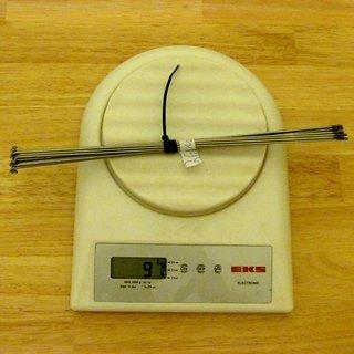 Gewicht DT Swiss Speiche Competition 268mm, 16 Stück