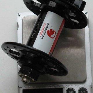 Gewicht American Classic Nabe Disc 130 100mm/QR, 32-Loch