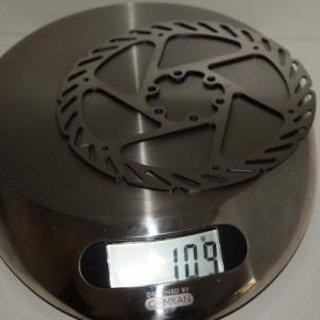 Gewicht Avid Bremsscheibe G2 CleanSweep 160mm