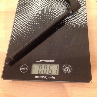 Gewicht DT Swiss Achse Al-Achse 12 x 142mm