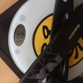 Gewicht SRAM Kurbel NX Eagle DUB 175