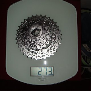 Gewicht SRAM Kassette PG-980 9-fach, 11-32Z