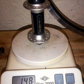 Gewicht Islabikes Nabe VR-Nabe 100mm/QR, 28-Loch