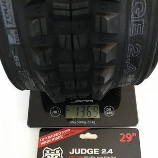 """Gewicht WTB Reifen Judge 29"""""""