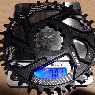 Gewicht SRAM Kettenblatt X-Sync Direct Mount GXP 32Z