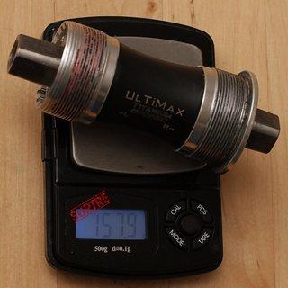 Gewicht FSA Innenlager Ultimax Titanium Vierkant, 68x103mm, BSA