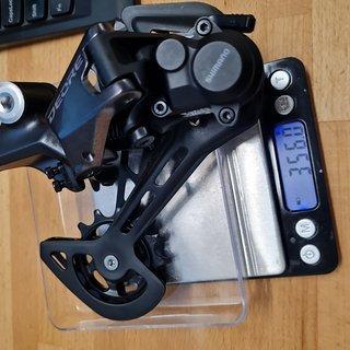 Gewicht Shimano Schaltwerk RD-M6100 Deore 12-fach