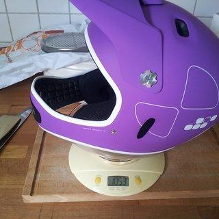 Gewicht POC Sports Helm Cortex Flow S/M