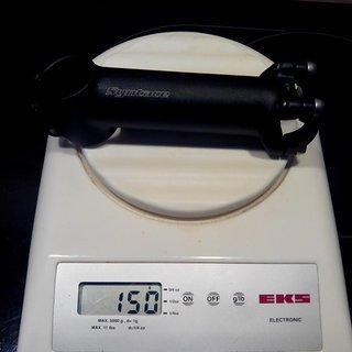 Gewicht Syntace Vorbau Force 139 26,0mm, 120mm, 17°