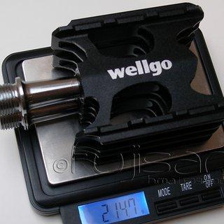 Gewicht Wellgo Pedale (Platform) C006 95x61.6x22.9mm