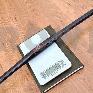 Gewicht No-Name Lenker Carbon Flatbar 31.8mm, 700mm