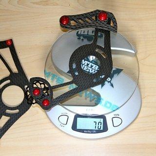 Gewicht RacePeople Kettenführung 4cross 36-40Z