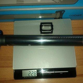 Gewicht Crank Brothers Sattelstütze Cobalt 3 31.6 x 350mm