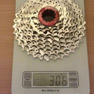 Gewicht SRAM Kassette PG-990 9-fach, 11-34Z