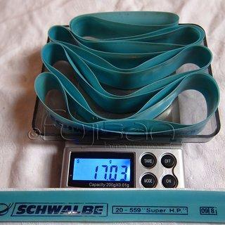 "Gewicht Schwalbe Felgenband 26"" Felgenband 20mm 20-559"