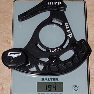 Gewicht MRP Kettenführung G2 SL 36-40Z, ISCG-05