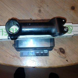 Gewicht Ritchey Vorbau Comp 2-Axis 31.8mm, 110mm, 6°
