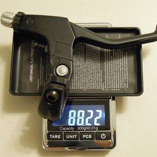 Gewicht Shimano Felgenbremse Deore BL-M510 22.2