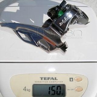 Gewicht Shimano Umwerfer XTR FD-M960 31.8mm