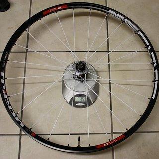 """Gewicht DT Swiss Systemlaufräder XM 1550 Tricon 26"""", VR, 100mm/15"""