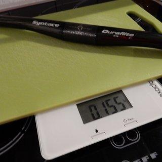 Gewicht Syntace Lenker Duraflite Carbon  630mm