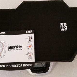 Gewicht Evoc Rucksack evoc shield ( evoc freeride trail 20L ) M