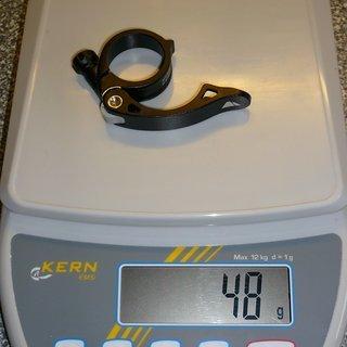 Gewicht Canyon Sattelklemme Clinger (QR) 34,9mm