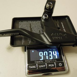 Gewicht Scott Felgenbremse COMP TKML MT3.0 22.2 mm