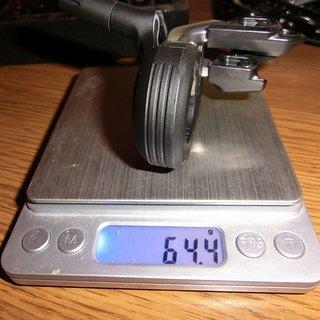 Gewicht Shimano Schalthebel SW-M9050R