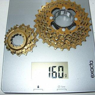 Gewicht Kocmo Kassette Titan-Kassette 8-fach, 11-28Z