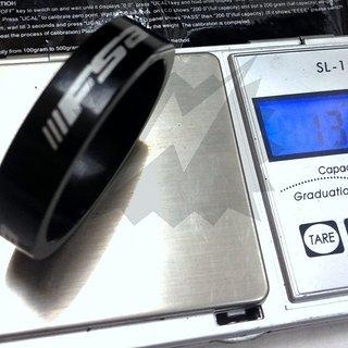Gewicht FSA Spacer Al-Spacer 1 1/2'', 10mm