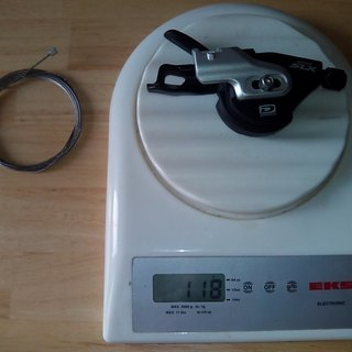 Gewicht Shimano Schalthebel SLX SL-M670-B 10-fach
