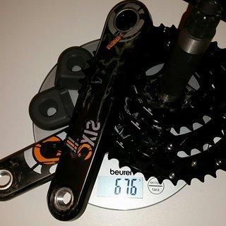 Gewicht Race Face Kurbel Sixc 175 mm