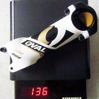 Gewicht Oval Concepts Vorbau 600 Stem 31.8mm, 100mm, 6°