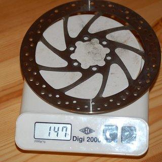 Gewicht Magura Bremsscheibe Bremsscheibe 160mm