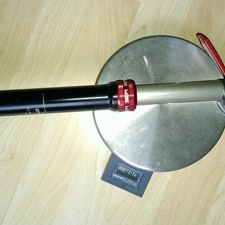 Gewicht Kind Shock Sattelstütze höhenverstellbar Dropzone 30,9 x 350mm