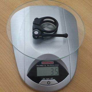 Gewicht Moove Components Sattelklemme Pro CNC Quick Release Seatclamp 34,9 mm