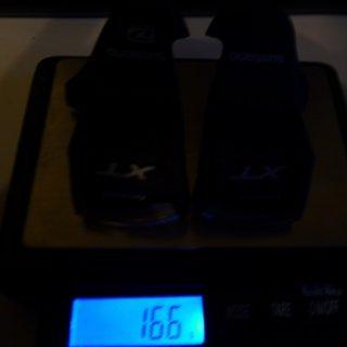 Gewicht Shimano Weiteres/Unsortiertes Gangstandsanzeigen XT SL-M780-A