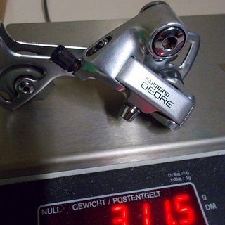 Gewicht Shimano Schaltwerk Deore RD-MT60
