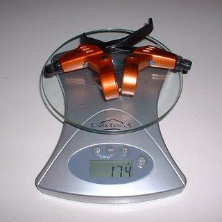 Gewicht Avid Felgenbremse Speed Dial Magnesium