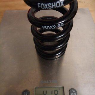 Gewicht Fox Racing Shox Feder Stahlfeder 450 x 2.80