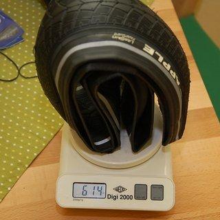 """Gewicht Schwalbe Reifen Big Apple 26x2.0"""" / 50-559"""