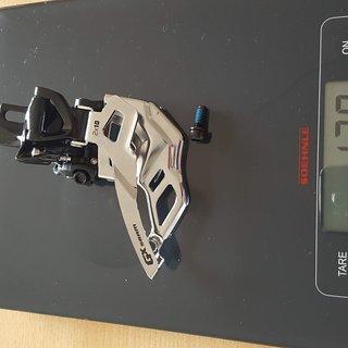Gewicht SRAM Umwerfer GX 2x10
