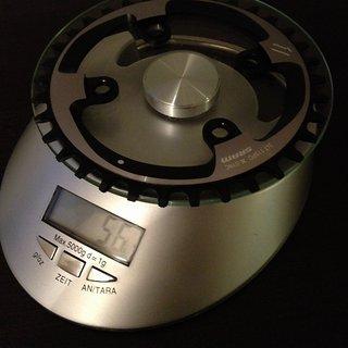 Gewicht SRAM Kettenblatt XX1 76mm, 34Z
