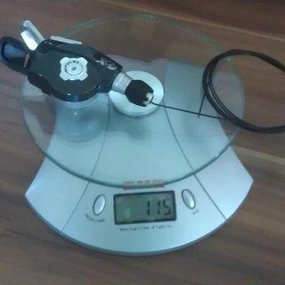 Gewicht SRAM Schalthebel X9 Trigger 9-fach